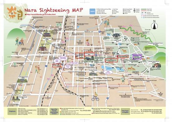 Nara Worm Meeting Map
